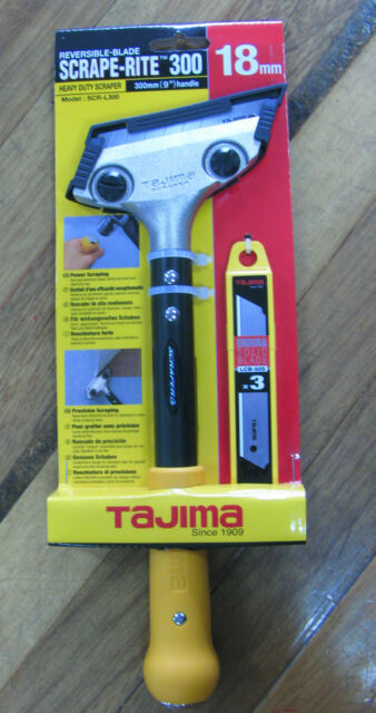 "Tajima Scrape-Rite 300 Heavy Duty Scraper  300mm / 12"" Handle"