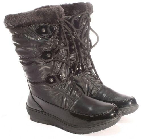 Hiver Chaussures Neige Chaud Ella Fausse Uk Bottes Fourrure aspen Toutes gOHngXq
