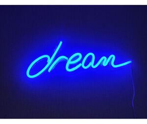 "18""x6""LED Dream Neon Sign Light Kid Bedroom Party Xmas ..."