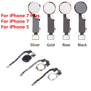 Home-Button-Main-Key-Flex-Cable-Replacement-Assembly-For-iPhone-7-amp-7-Plus-5S