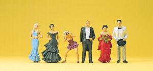 Preiser 10331 Hochzeitsgäste, H0