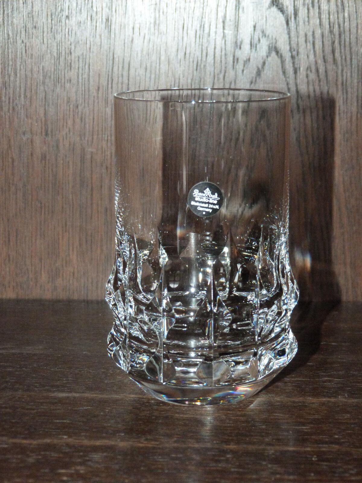 6 wiskey whisky pomme Universel Gobelet 12 cm Hold presque de ROSENTHAL