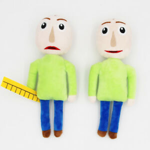 Details about 2pcs Game Baldi's Basics Plush Figure Toy Teacher Baldi  Stuffed Doll