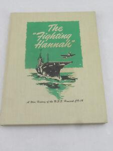 RARE-The-Fighting-Hannah-A-War-History-of-the-USS-Hancock-CV-19-1989-Reprint
