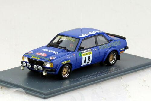 Opel Ascona B Gruppe 2 Racing Rally Monte Carlo #48 1981 1:43 Neo Modellauto