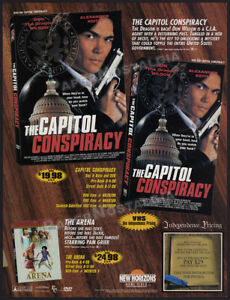 THE-CAPITOL-CONSPIRACY-Original-1999-Trade-Print-AD-ADVERTISEMENT-Don-Wilson