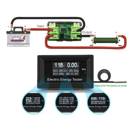LCD 20A DC 120V Meters Digital Voltmeter Voltage Power Energy Ammeter Indicator