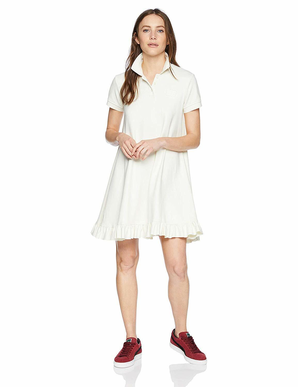 PUMA Women's Fenty Polo Swing Mini Dress, Vanilla ice, M