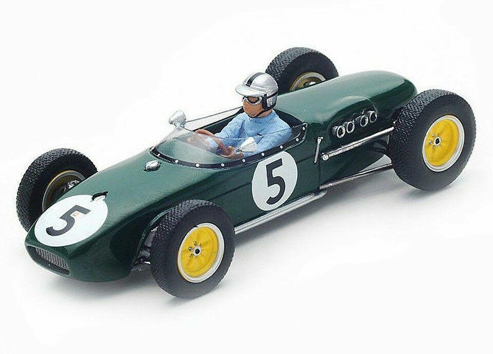 Web oficial Lotus 18 n.5 holandés Grand Prix 1960 Alan Stacey Stacey Stacey S5342 Spark 1 43 nuevo en una caja   calidad auténtica
