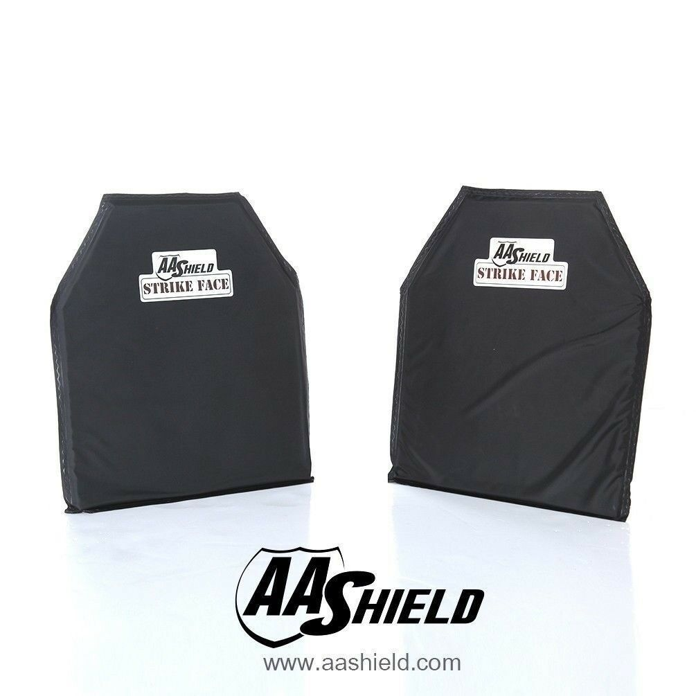AA Shield Bulletproof Soft Panel Body Armor Aramid Plate Lvl IIIA3A 10x12Pair