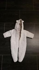 gute Qualität attraktive Mode elegant und anmutig Details zu Baby Schneeanzug Winter Gr. 62 fleecegefüttert weiß Ernstings  Family *wie neu*