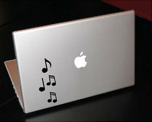 MUSIC NOTES RHAPSODY MELODY SONG MACBOOK CAR TABLET VINYL DECAL