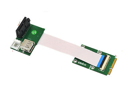 Sintech mini pci-e to USB PCI express Riser Extend adapter Card+10/20/30cm Cable
