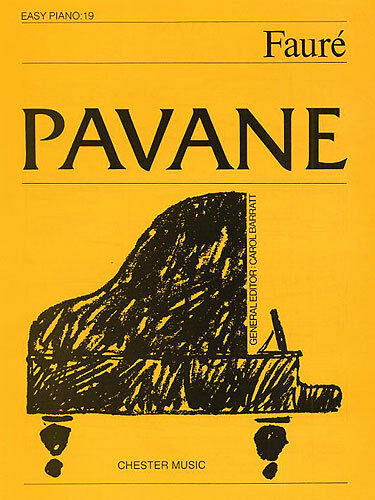 Pavane Easy Piano No.19 Learn to Play Beginner Classical Sheet Music Book