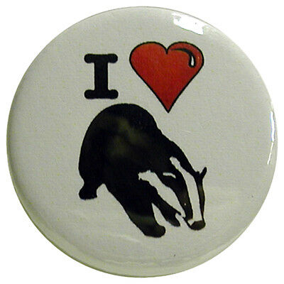 Button Badge I Love My Brother Choice 25mm//55mm//77mm Novelty Fun BadgeBeast