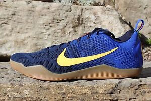 79e0911f045 17 Nike Kobe XI 11 Elite Low Mambacurial FC Barcelona Blue Red SZ 18 ...