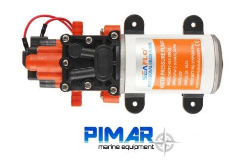 POMPA AUTOCLAVE ACQUA 12V 5 LT// MIN BARCA CAMPER SEAFLO CON PRESSIONE 6.9
