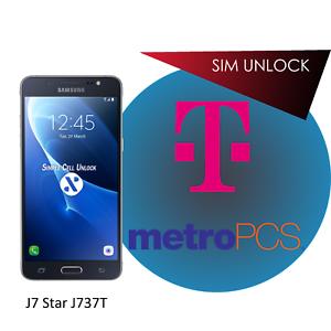 Samsung Galaxy J7 Star J737T T-Mobile SIM Unlock Remote Service INSTANT!