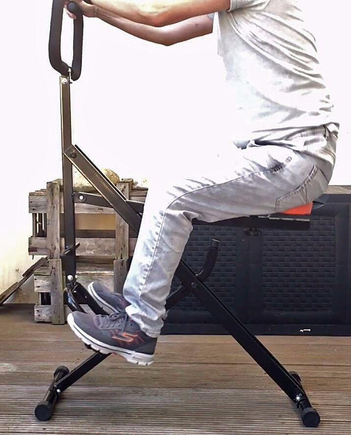 Triway Crunch Pro Total Body Trainer / Crosstrainer / Ganzkörperfitnessgerät