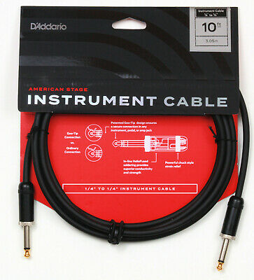 10 ft Planet Waves American Stage Instrument Cable