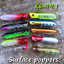 5-Genuine-HENGJIA-fishing-savage-popper-lure-surface-pike-perch-trout-baits-gear thumbnail 1