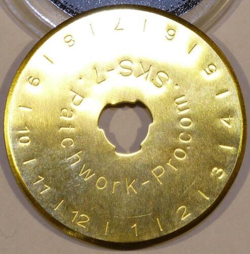 5x LongLife Ersatzklingen 45mm Titan für Rollschneider Rotary Patchwork Quilt