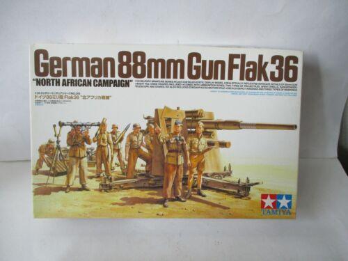 """Tamiya deutsche 8.8cm Flak 36 /""""Nord Afrika DAK/"""""""