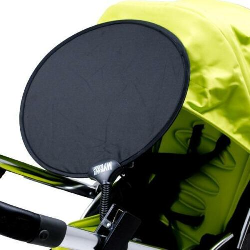 clip en la sombra para cochecito /& Sillas de paseo Negro My Buggy Buddy Parasol