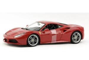 Ferrari-488-Gtb-Rojo-1-18-Modelo-de-Coche-Maisto-Special-Edition-New
