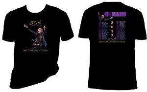 Neil Diamond Th Tour Shirt