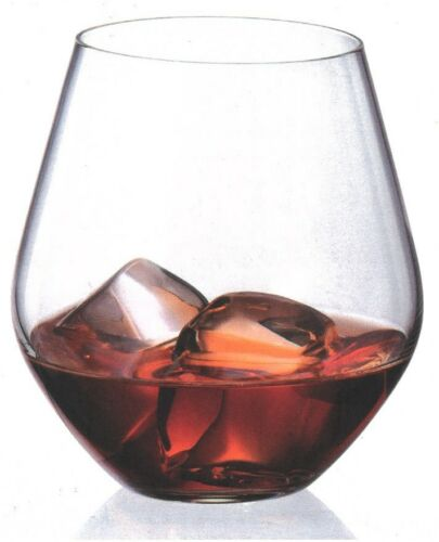 Bohemia Crystal Set of 6 Red White Wine Glasses Tumblers 500ml Whiskey Large