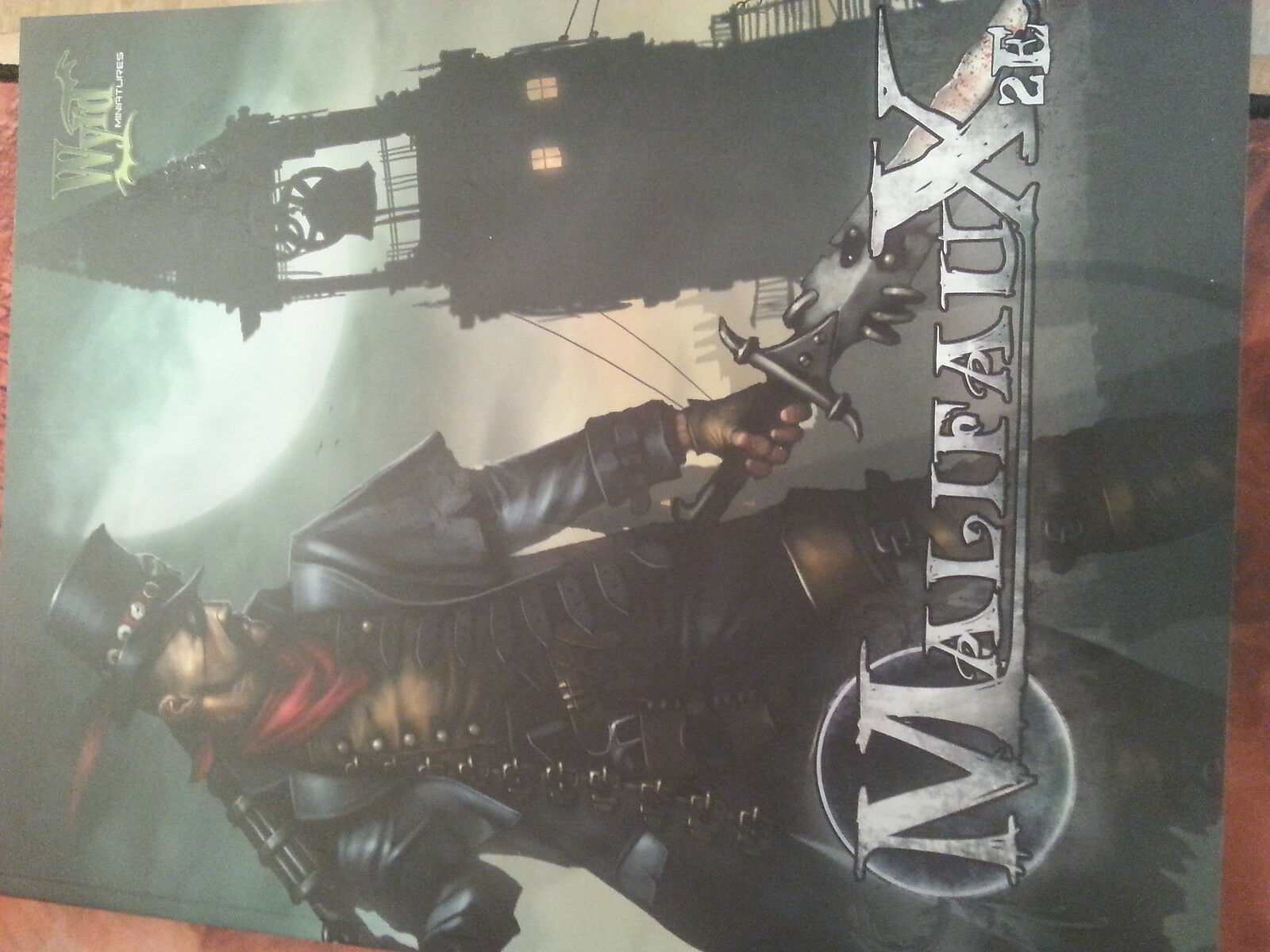 WYRD MINATURES MALIFAUX 2E RULEBOOK-NEW