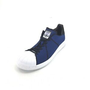 0b5208823 Adidas Mens Superstar Bounce PK Sneakers Shoes Blue Black Size US 11 ...