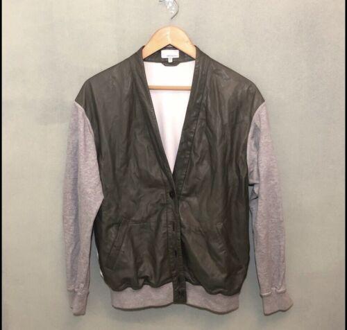 Brogden Leather Cardigan