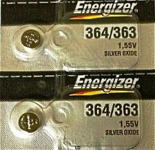ENERGIZER 364/363 SR621W SR621SW (2piece) BATTERIES Sealed Authorized Seller