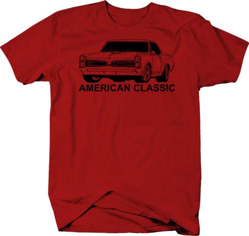 American Classic Pontiac GTO Goat Muscle Car Classic  Color T-Shirt