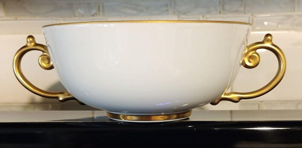 L'Objet Aegean 24kt or Soupe Bol avec 2 poignées