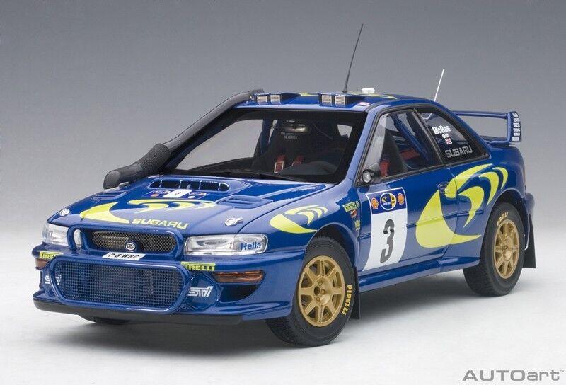 AUTOART 89792 - 1 18 SUBARU IMPREZA WRC WRC WRC 1997  3 - Rallye Of Safari-Neuf 98e396