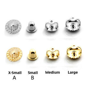 50afbf691 Extra Earring Backs Extra Large Surgical Steel Earring Backs Package ...