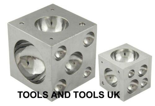 """Calidad 2.5/"""" Acero sólido modelado de metal bloque abovedado Embutidores 2-1//2/"""" de joyería del grano"""