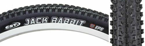 Cst Premium Jack RaBBit Bicycle Tires//Mountain//26X2.1//559//Fold//Bk//Blk//65//