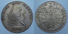 AUSTRIAN NETHERLANDS RARO 3 FIORINI INSURREZIONE DEL 1790 SPL+