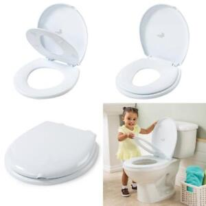 bf38051988b White Infant 2-In-1 Toilet Trainer Round Baby Training Space Saving ...