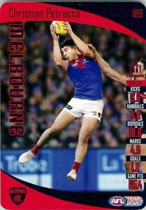 New-2020-MELBOURNE-DEMONS-AFL-Card-CHRISTIAN-PETRACCA-Teamcoach