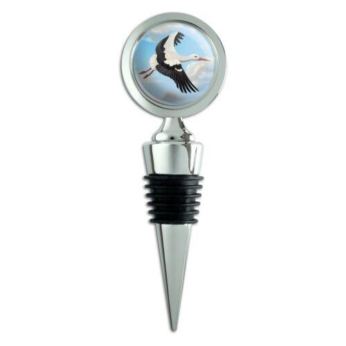 Flying Stork Wine Bottle Stopper
