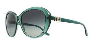 Sole Occhiali Ve4324b Da Fumè Trasparenti Versace Verde Grigio 57mm 521611 twqv4546
