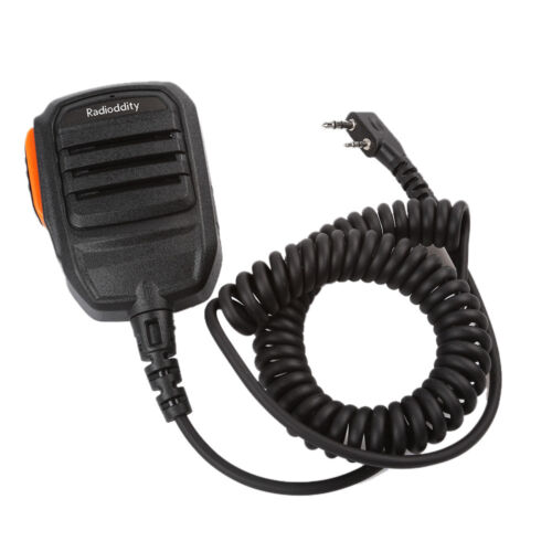 RS22 Shoulder Speaker Mic for Baofeng TYT 2-Pin UV8000E UV-5R GT-3 GT-5 GD-77 US