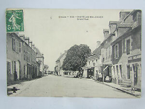 CPA-23-Auvergne-Malvaleix-Grande-Rue