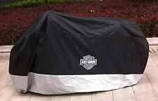 "HARLEY DAVIDSON TOURING MOTORCYCLE COVER ~ WATER RESIST ""SHIPS INTERNATIONAL"""