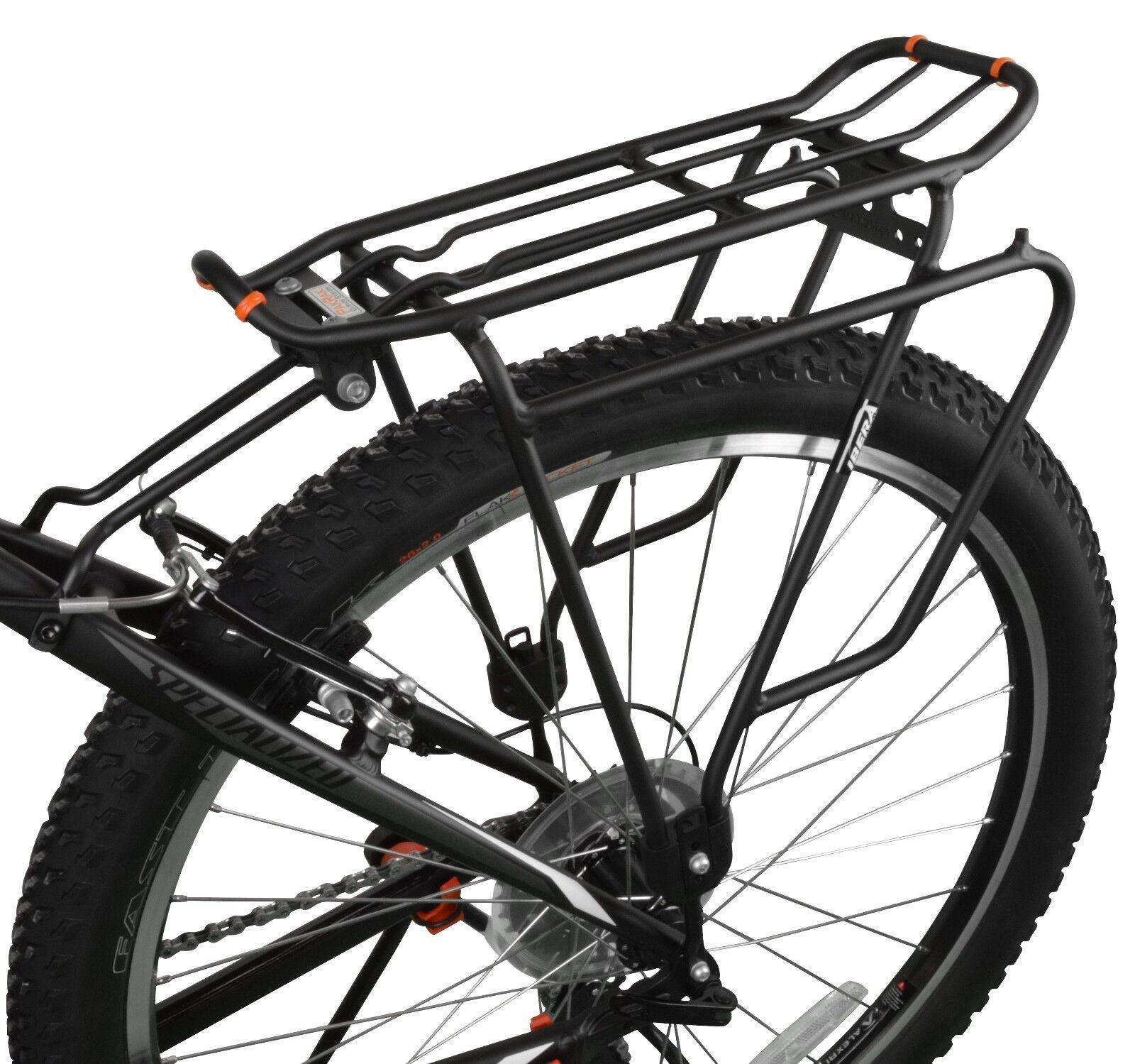 Frame-Mounted Ibera Bike Rack Bicycle Tou Carrier Plus For Disc Brake Mount